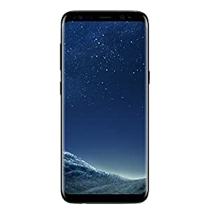 Samsung Galaxy S8, Smartphone libre (5.8'', 4GB RAM, 64GB, 12MP) [Versión italiana: No incluye Samsung Pay ni acceso a promociones Samsung Members], color Negro