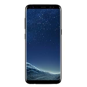 """Samsung Galaxy S8, Smartphone libre Android (5.8"""", 4 GB RAM, 4G, 12 MP), [Versión italiana: no incluye Samsung Pay ni acceso a promociones Samsung members], Negro"""