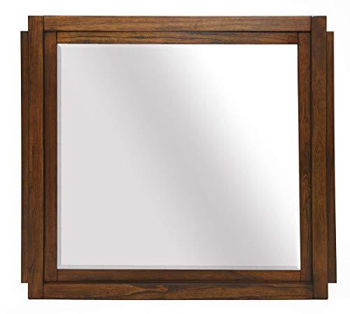 Sunset Trading Sonona Storage Bedroom Dresser Mirror, Medium, One Size, Warm -