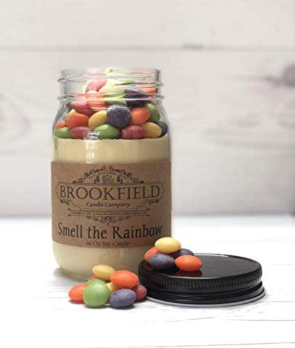 amazon com smell the rainbow 16 oz specialty candle handmade