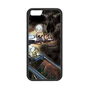 iPhone 6 4.7 Inch Cell Phone Case Black Ghost Rider Laughs Nkyjg