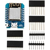 Yongse 3Pcs Wemos D1 Mini V2.3.0 WiFi Internet of Things Development Board Based ESP8266 ESP-12S 4MB Flash