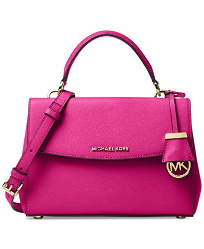 MICHAEL Michael Kors Ava Small Top Handle Satchel, Raspberry by MICHAEL Michael Kors