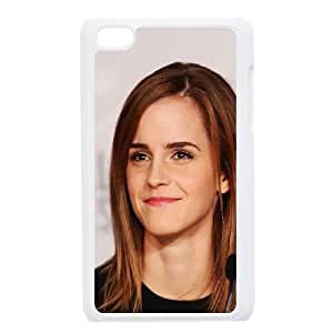 iPod Touch 4 Case White Emma Watson Smile Cannes Film Girl TR2458910