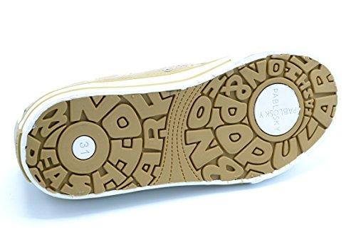 Pablosky 967730 - Zapatilla de lona con plantilla de piel