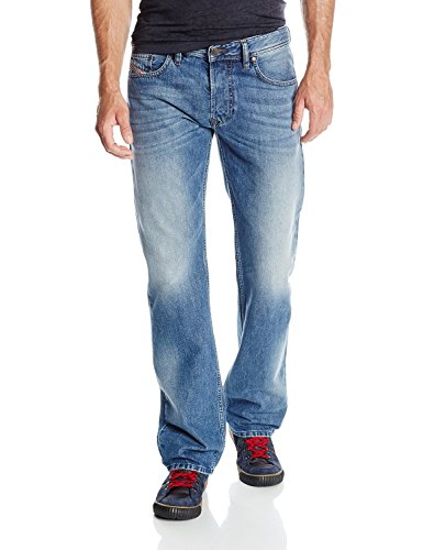 Diesel Cotton Straight Leg Jeans - 1