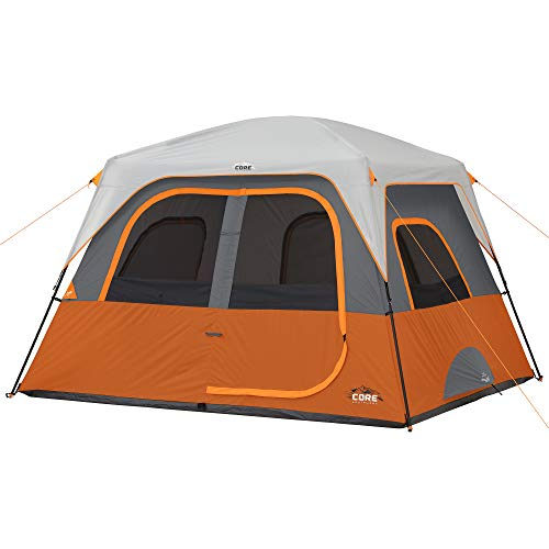 CORE 6 Person Straight Wall Cabin Tent