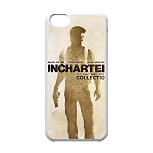 uncharted the nathan drake collection iPhone 5c Cell Phone Case White 53Go-343479