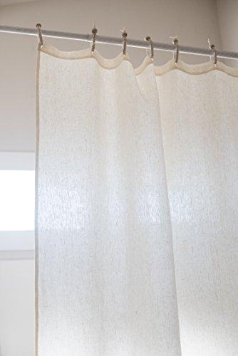 (Organic Hemp Shower Curtain Full Size (73.5