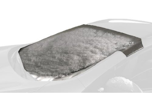 Intro-Tech HI-37-S Custom Fit Windshield Snow Shade for select Hyundai Santa Fe Models, Silver