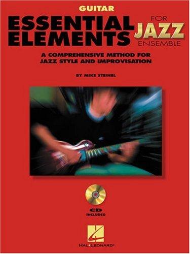 Essential Elements For Jazz Guitar Bk/Online Media