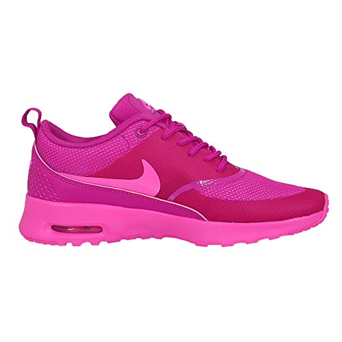 Nike Womens Wmns Air Max Thea, PINK POW/FIREBERRY, 5 US