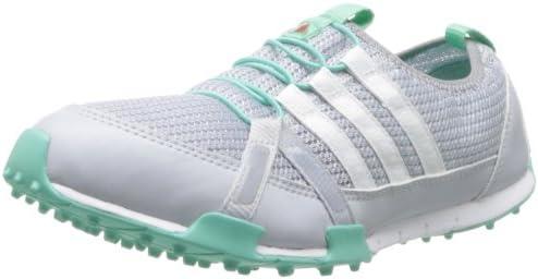 adidas Women's Climacool Ballerina Golf Shoe,White/Mid Grey/Bahia ...