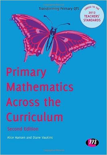 Book Primary Mathematics Across the Curriculum (Transforming Primary QTS Series)