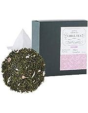 Sakura Kersenbloesem Groene Thee van CHILL TEA Tokyo - 100% Japanse Sencha losse thee – een rijke, fruitage en bloemige smaak