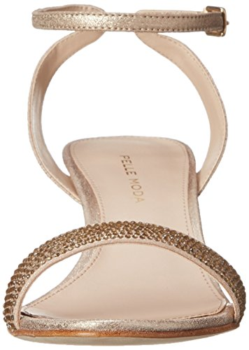 Pelle Moda Fabia Sandal Gold Dress Platinum Women's qFpqOCxwS