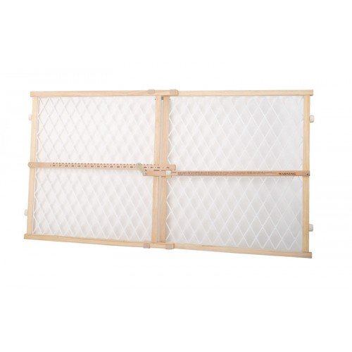 Dogit 70623 Plastic Mesh Pet Safety Gate, 26-42  W x 23  H