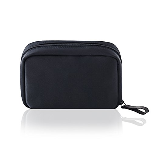 Cosmetic Bag,Mossio Women Tote Bag Carry Case for Purse Travel Wallet Black