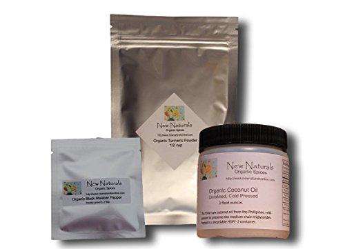 Golden Paste Starter Kit from New Naturals