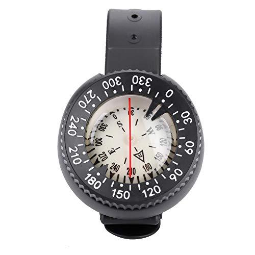 T-best Scuba Diving Wrist Compass,Professional Dive Compass Wrist Watch Compass Northern Hemisphere & Wristband for Underwater Navigation Scuba (Dive Watch Compass)
