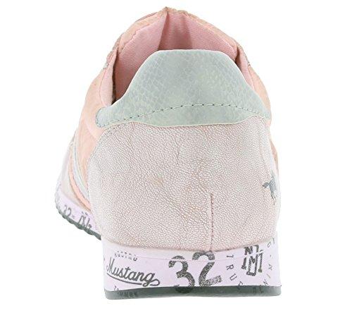 MUSTANG mujeres zapatilla de deporte rosada 1226-701-555, Size:44