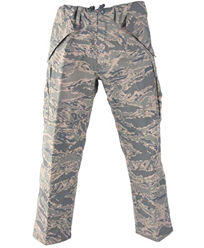 Genuine US Military Extreme Cold Weather Goretex Pants (Tiger Stripe, X-Large Short) ()