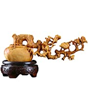Zodiac Pig Text Piece Carved Handicraft Carving Year of The Pig Mascot Woodcut Pig Accessories Pendant