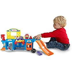 VTech Go! Go! Smart Wheels Auto Repair Center Playset