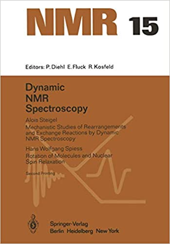 Dynamic Nmr Spectroscopy Nmr Basic Principles And Progress 15