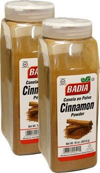 Badia Cinnamon Powder 16 oz Pack of 2 by Badia