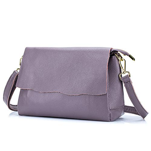 Purple Pelle Moda Trekking Donne La Borsa Per Messenger Shopping In Handbag aw1Fqx