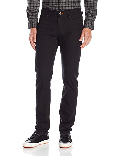 Lee Men's Modern Series Slim-Fit Tapered-Leg Jean, Black, - Series Large Padded Extreme