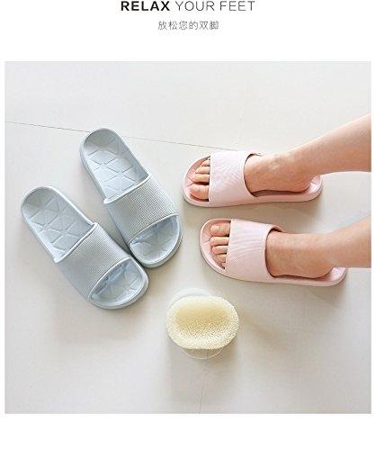 en 39 Zapatillas antideslizante 40 de baño polvo 40 39 rosa wqv8FCw