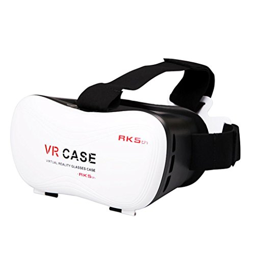 Creazy New Google Cardboard VR BOX Virtual Reality 3D Glasses For Samsung Galaxy S7