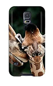 XiFu*MeiForever Collectibles Mother And Baby Giraffe Hard Snap-on Galaxy S5 CaseXiFu*Mei