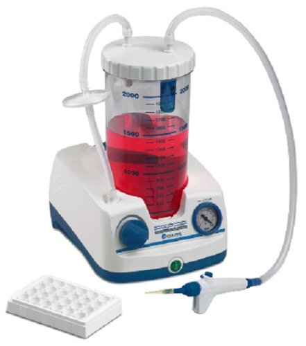 Benchmark Scientific V0020 Accuris Aspire Laboratory Aspirator with Pump and 2 L Bottle, Handheld Vacuum Controller, 115V