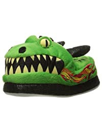 Trimfit Boys' Dragon Slippers Moccasin