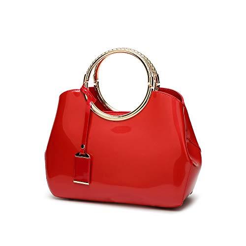 Portafoglio Nero Rosso donna Lyzd Portafoglio FxPqScw1wg