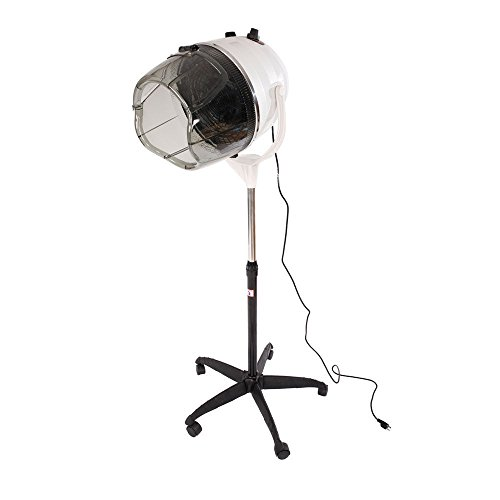 Eight24hours Stand Up Bonnet Hair Dryer Hood w/ Timer Professional Salon Styling Adjustable by Eight24hours