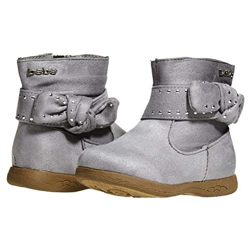 Pictures of bebe Toddler Girls Microsuede Boots Size 7 2