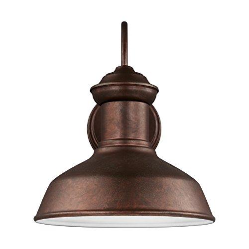 Weathered Copper Outdoor Lighting
