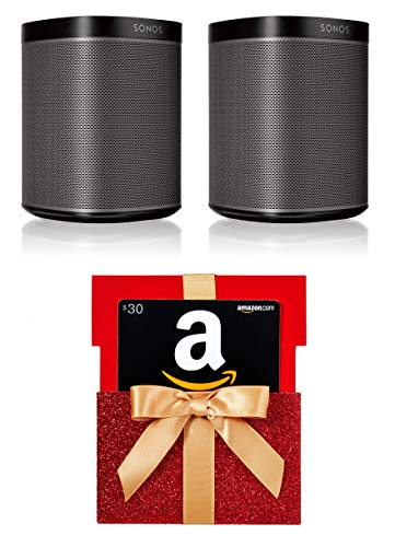 Great Features Of Two Room Set with Sonos Play:1 + $30 Amazon Gift card