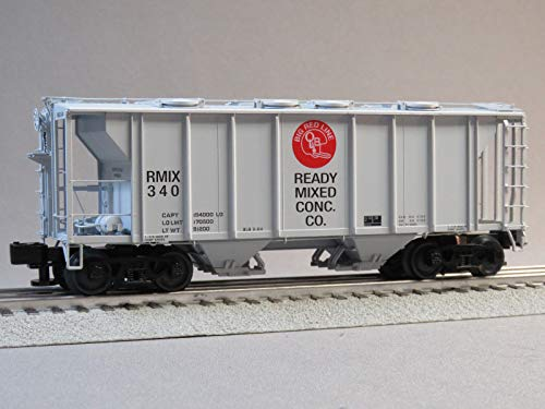 - Lionel Ready Mixed PS-2 Covered Hopper CAR #340 o Gauge
