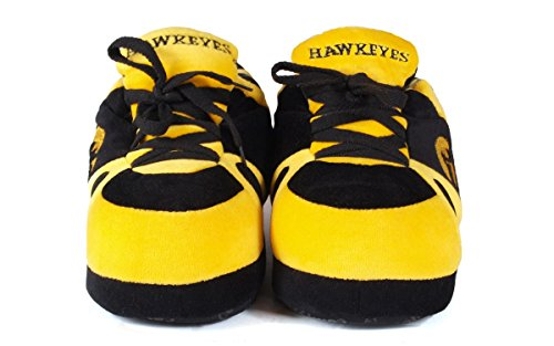 Sneaker Men's NCAA Iowa College Feet Happy and OFFICIALLY Hawkeyes LICENSED Womens Slippers nx8Sa4OTwq
