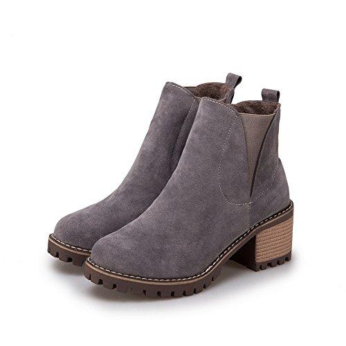 BalaMasa Abl10530, Sandales Compensées femme - Gris - gris,