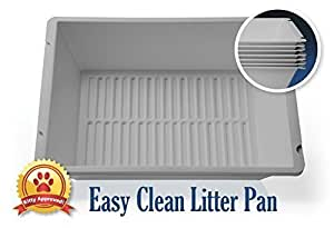 Easy Clean Litter Pan 7 layers