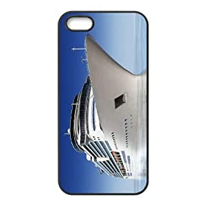 Iphone 5,5S Ship Phone Back Case Customized Art Print Design Hard Shell Protection TY025742
