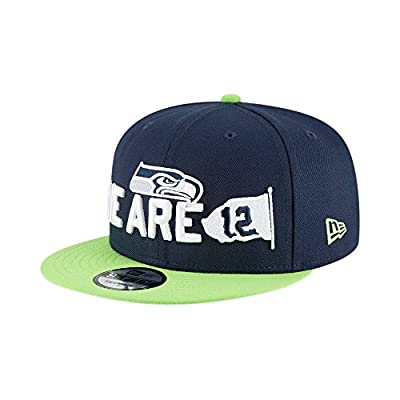 New Era Seattle Seahawks 2018 NFL Draft Spotlight Snapback 9Fifty Adjustable Hat by New Era