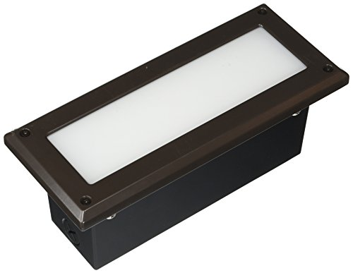 WAC Lighting WL-5105-30-aBZ Endurance LED Brick Light in Architectural Bronze Finish ()
