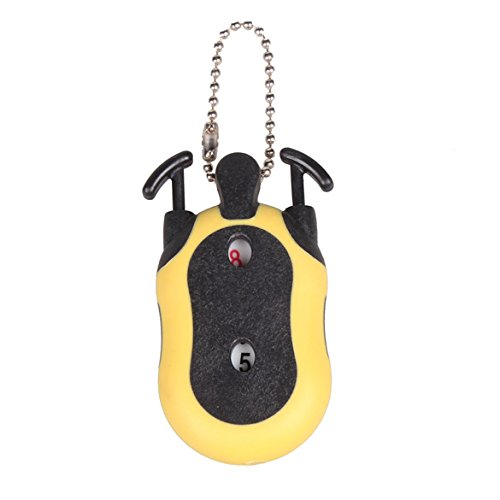 Alloet Handy Mini Golf Stroke Shot Putt Score Counter Tally Keeper with Key Chain (Womens Golf Counter)